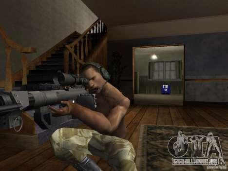 Chapéus de Call of Duty 4: Modern Warfare para GTA San Andreas sexta tela