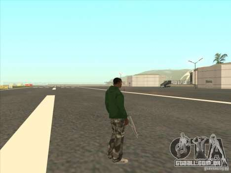 Teleportar para um marcador para GTA San Andreas terceira tela