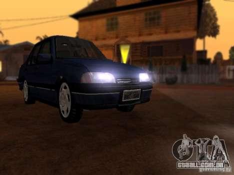 Chevrolet Monza GLS 1996 para GTA San Andreas traseira esquerda vista
