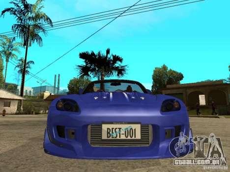 Honda S 2000 para GTA San Andreas