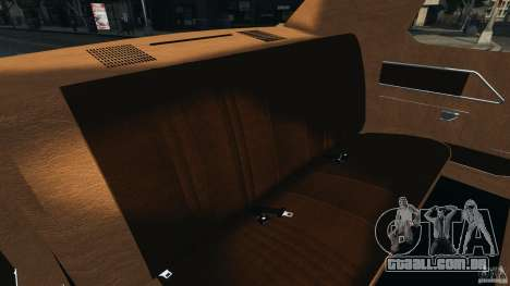 Dodge Monaco 1974 Taxi v1.0 para GTA 4 vista lateral