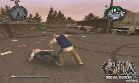 Bota clipart Bully Scholarship Edition para GTA San Andreas terceira tela