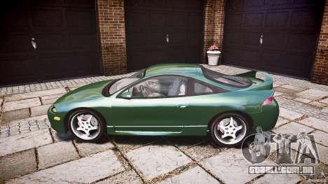 Mitsubishi Eclipse 1998 para GTA 4 esquerda vista