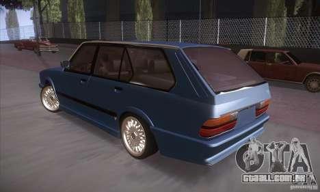 BMW E28 Touring para GTA San Andreas vista direita
