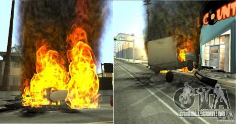 Overdose Effects v 1.4 para GTA San Andreas quinto tela