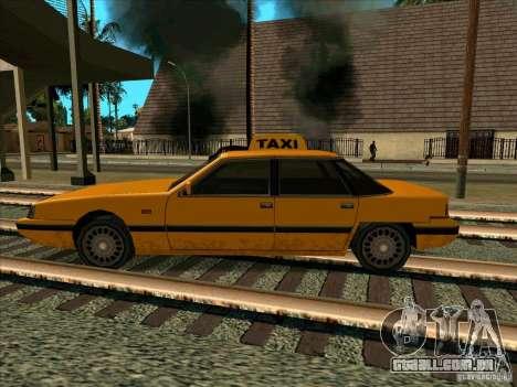 Intruder Taxi para GTA San Andreas esquerda vista