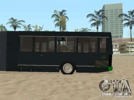 Trailer de Liaz 6212 para GTA San Andreas vista traseira