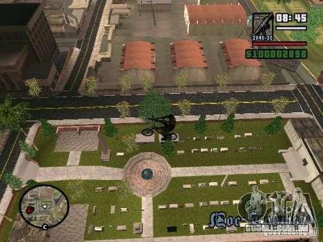 Bicicletas voadoras para GTA San Andreas segunda tela