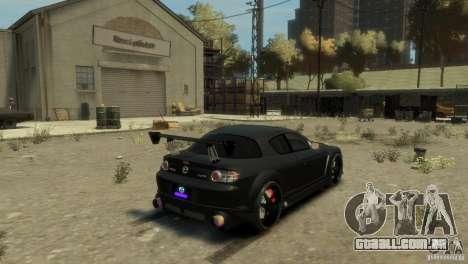 MAZDA RX8 para GTA 4 esquerda vista