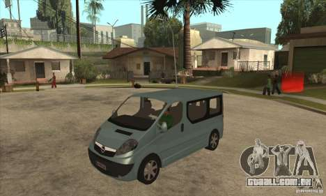 Opel Vivaro para GTA San Andreas