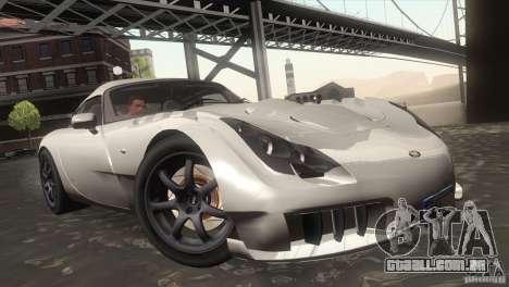 TVR Sagaris 2005 V1.0 para GTA San Andreas