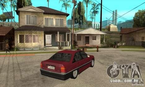 Opel Omega A para GTA San Andreas vista direita
