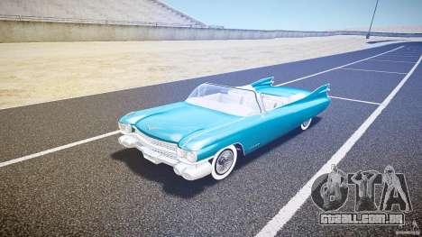 Cadillac Eldorado 1959 interior white para GTA 4 esquerda vista