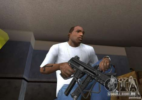 Weapon Pack by viter para GTA San Andreas por diante tela
