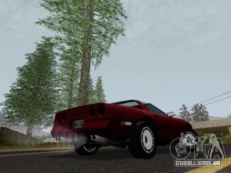 Chevrolet Corvette C4 1984 para GTA San Andreas vista direita