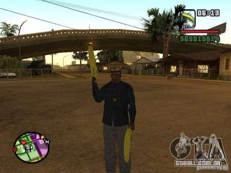 Bunana Gun para GTA San Andreas terceira tela