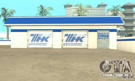 Estação de enchimento TNK para GTA San Andreas terceira tela