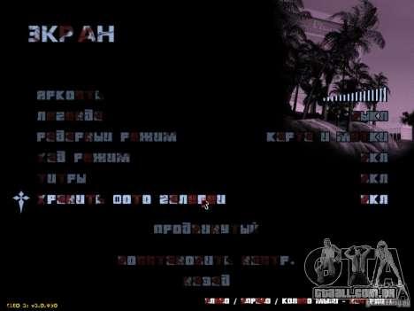 Texto sangrento para GTA San Andreas terceira tela