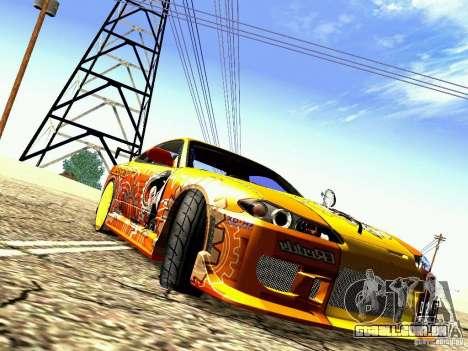 Nissan Silvia S15 Juiced2 HIN para GTA San Andreas esquerda vista