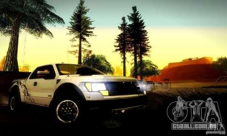 Ford F-150 SVT Raptor V1.0 para GTA San Andreas vista direita