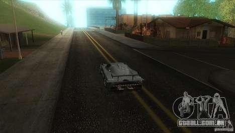 Estrada de qualidade no LS para GTA San Andreas sexta tela