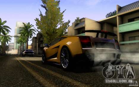 Lamborghini Gallardo Superleggera para GTA San Andreas vista direita