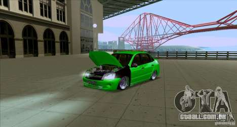 Lada Granta JDM para GTA San Andreas
