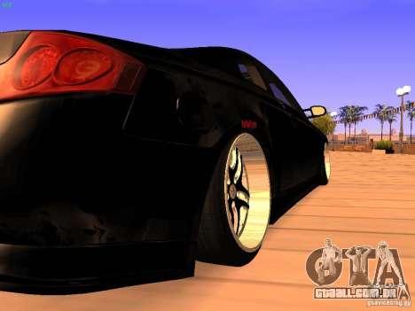 Infiniti G35 V.I.P para GTA San Andreas vista direita