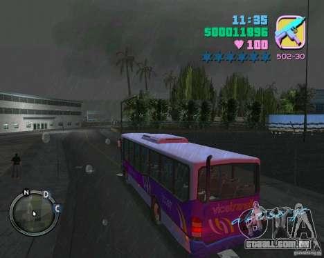 Marcopolo Bus para GTA Vice City vista traseira esquerda