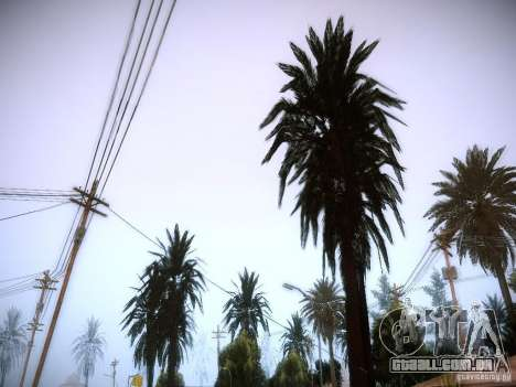 New trees HD para GTA San Andreas terceira tela