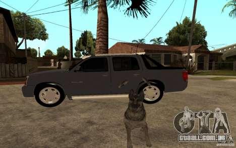 Cadillac Escalade pick up para GTA San Andreas esquerda vista