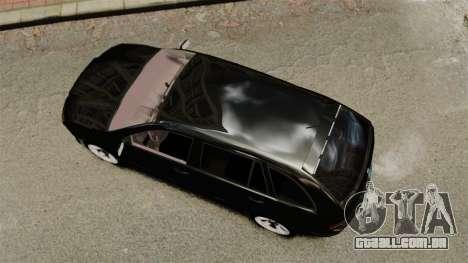 Skoda Fabia Combi Unmarked ELS para GTA 4 vista direita