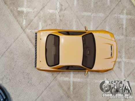 Nissan Skyline GT-R R34 Fast and Furious 4 para GTA 4 vista de volta