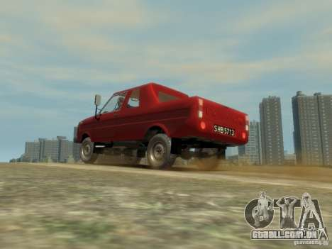 FSR Tarpan 237D para GTA 4 vista interior