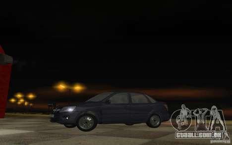 Lada Granta Stock para GTA San Andreas esquerda vista