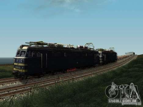 839-VL60 para GTA San Andreas traseira esquerda vista