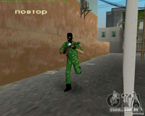 AK-74 para GTA Vice City por diante tela