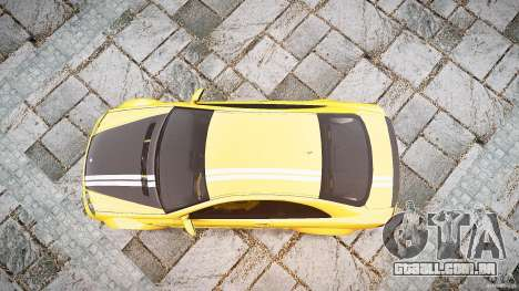 Mercedes Benz CLK63 AMG Black Series 2007 para GTA 4 vista direita