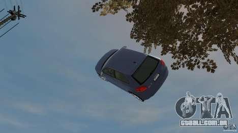 Audi S3 2006 v 1.1 não é tonirovanaâ para GTA 4 vista superior
