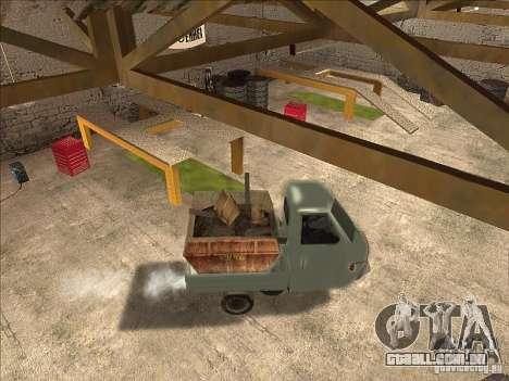 Ape Piaggio para GTA San Andreas vista direita