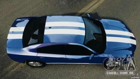 Dodge Charger Unmarked Police 2012 [ELS] para GTA 4 vista direita