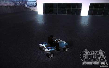Quad Bike Custom para GTA San Andreas vista direita