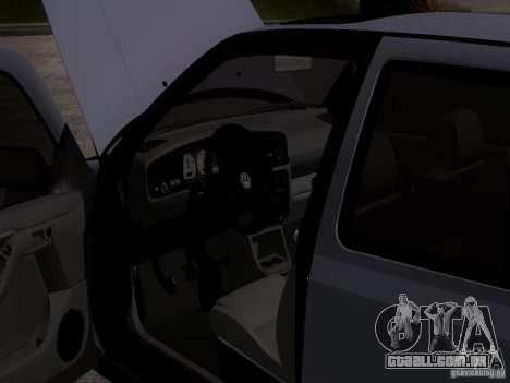 Volkswagen Golf 3 VR6 para GTA San Andreas vista traseira