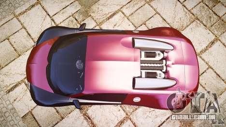 Bugatti Veyron 16.4 v3.0 2005 [EPM] Machiavelli para GTA 4 vista direita