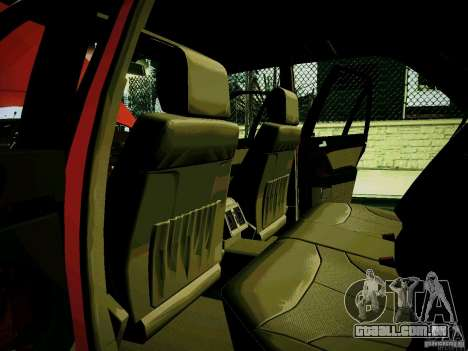 Mercedes-Benz S-Class W140 para GTA San Andreas vista interior