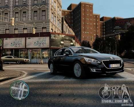 Pegeout 508 v2.0 para GTA 4