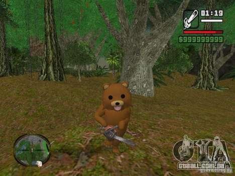 Crazy Bear para GTA San Andreas segunda tela