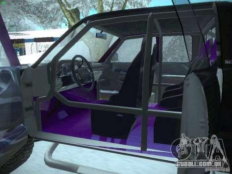 Dodge Ram Prerunner para vista lateral GTA San Andreas