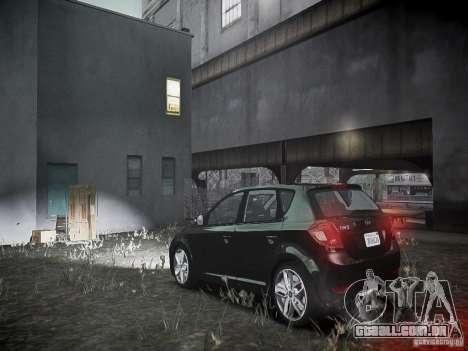 Kia Ceed para GTA 4 traseira esquerda vista