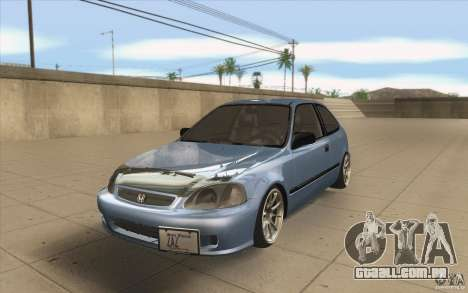 Honda Civic EK9 JDM v1.0 para GTA San Andreas